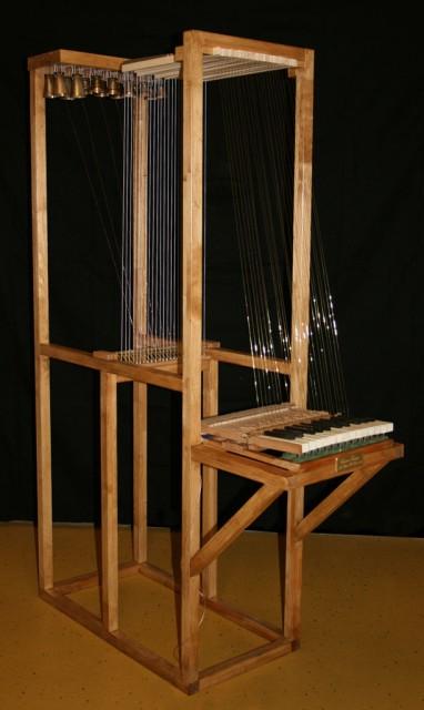 法国国家博物馆馆藏:电子大键琴
