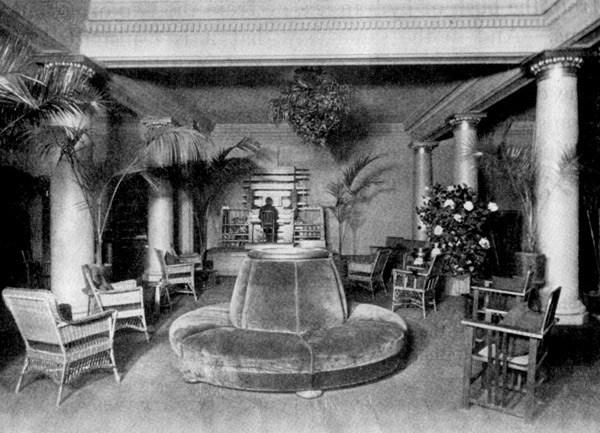 纽约市的电传簧风琴音乐厅,1906年前后