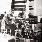电传簧风琴 MkII 的双排键盘,《甘特杂志》(Gunter's Magazine)1907年6月号
