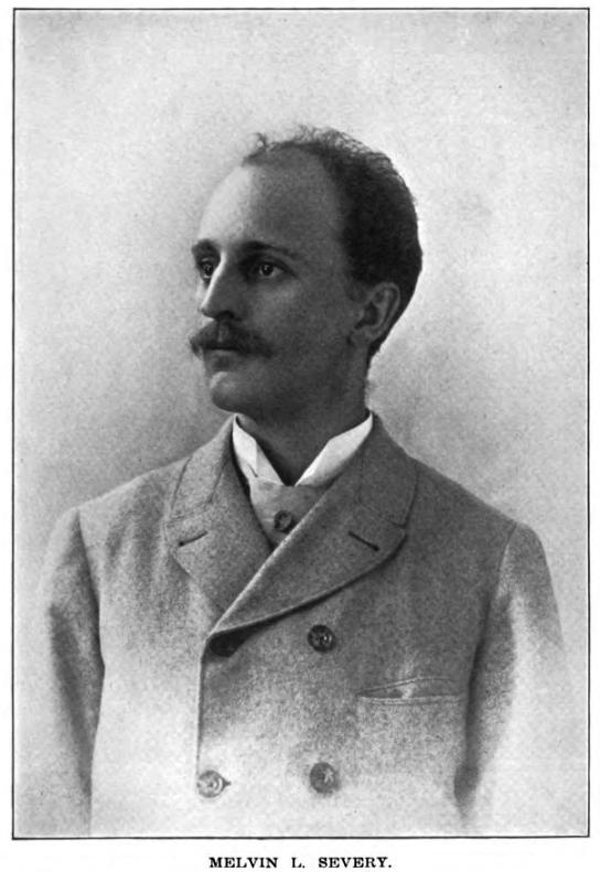 梅尔文·西弗里,摄于1915年前后