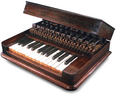 格雷德双八度版键盘发信器,今藏于美国史密森博物馆(Smithsonian Institute)