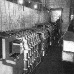 电传簧风琴音乐厅地下室的混音器,1907年