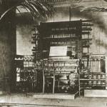 电传簧风琴音乐厅的簧风琴键盘控制端,1907年