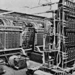 电传簧风琴音乐厅的集线机