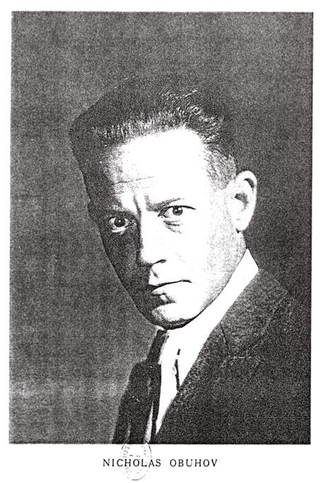 尼古拉斯(尼古拉)·奥布霍夫(也写作Obouchov, Obuchov, Obouhow, Obuchow),1892年4月22日,莫斯科库尔斯克市奥利尚卡-1954年6月13日,法国圣克劳德
