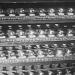 维勒蒙布勒教堂电波风琴的电子管组
