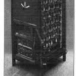 电钢琴(Piano Radio Èlectrique)的扬声器和电子管