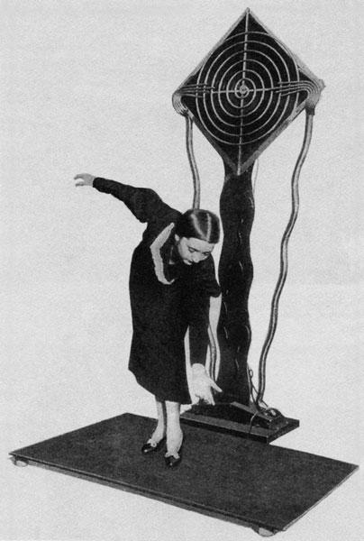 泰勒明的特耳西琴,1936年