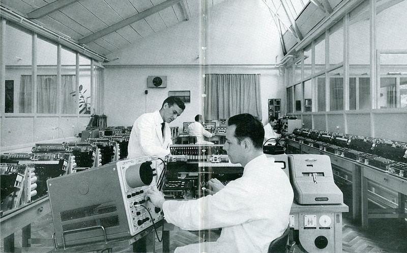 1960年的威尔林研究实验室