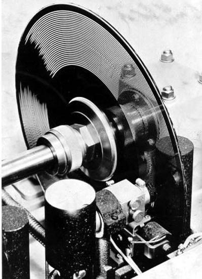 光电风琴的光盘装置细节