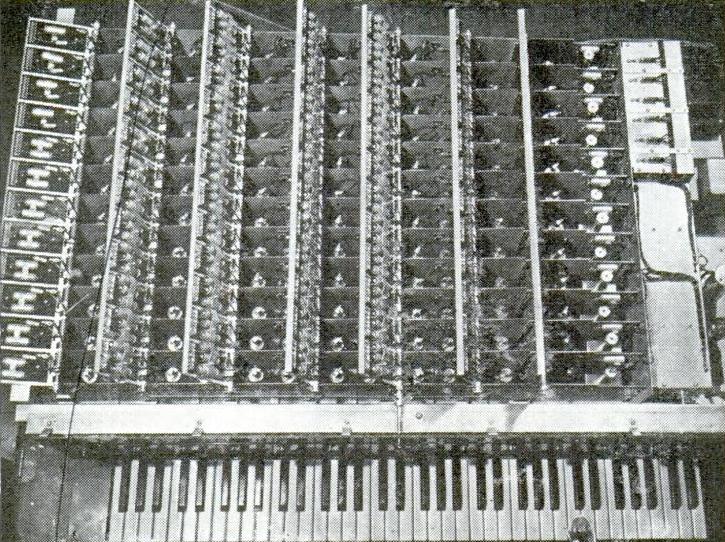 1939年美国杂志《大众机械》中的新音琴