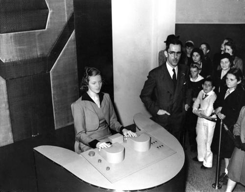 达德尔的语音合成器,1940年