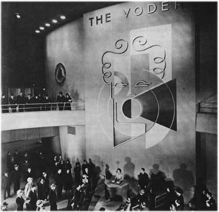 世博会上的语音合成器