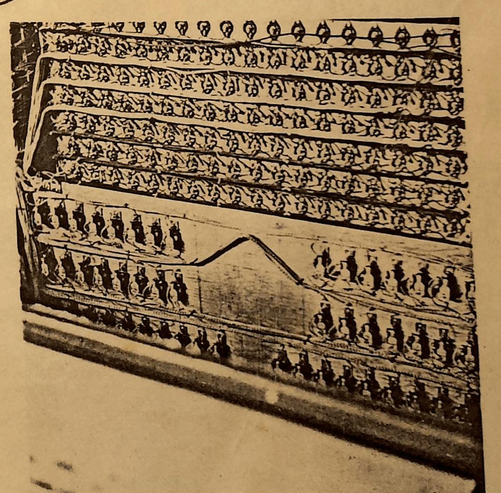 图中为该乐器上音源,1942年。图片来源:道格拉斯·杰克逊,2017年。