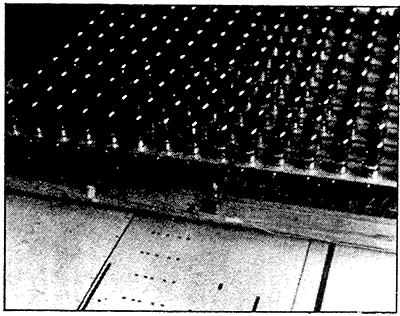 图中为哈纳特电子乐团上的电子扫描头,1942年。图片来源:汤姆·雷亚(Thom Rhea)个人收藏。