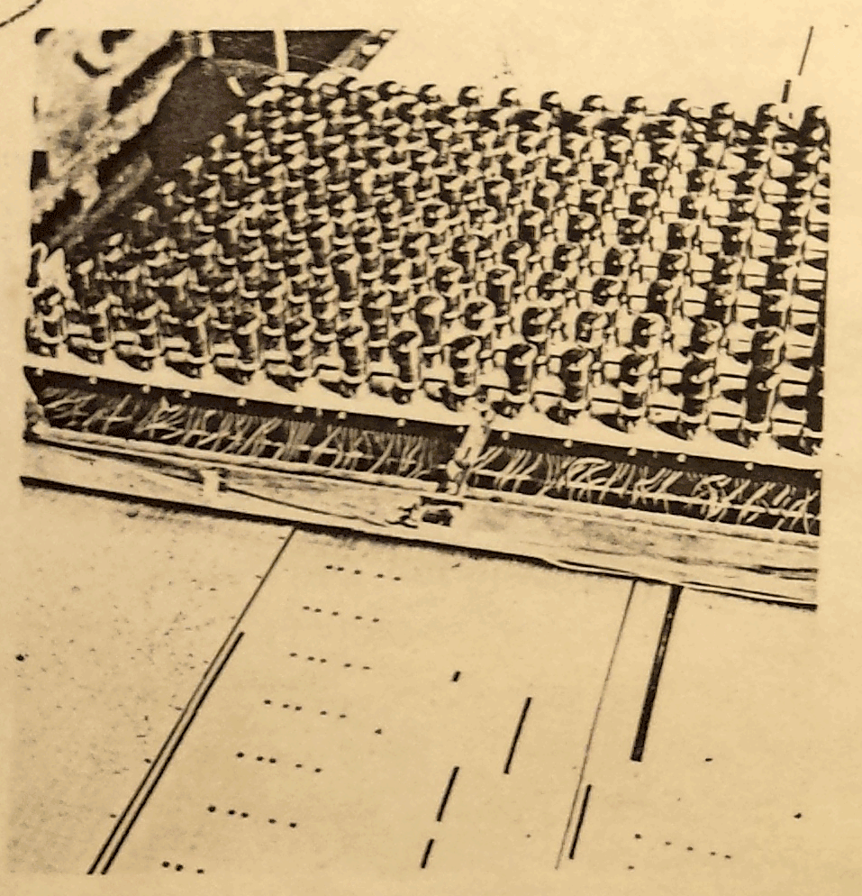 图中为哈纳特电子乐团上的电子扫描头,1942年。图片来源:道格拉斯·杰克逊,2017年。
