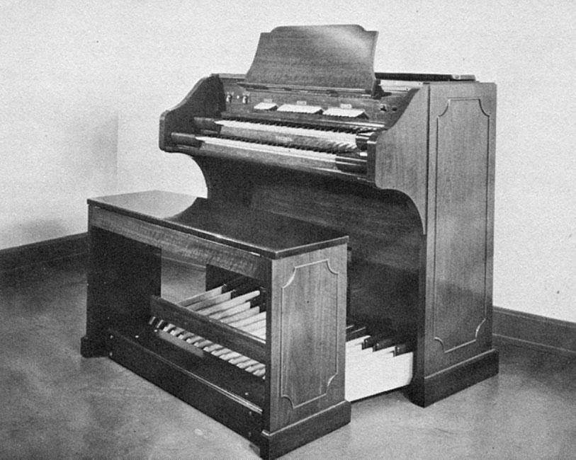温斯顿·科克的鲍德温风琴第五型号,1947年