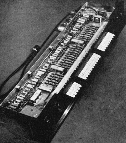 鲍德温风琴的音色控制电路