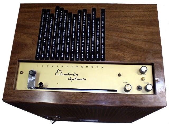 1960年代一款节奏伴侣的控制面板