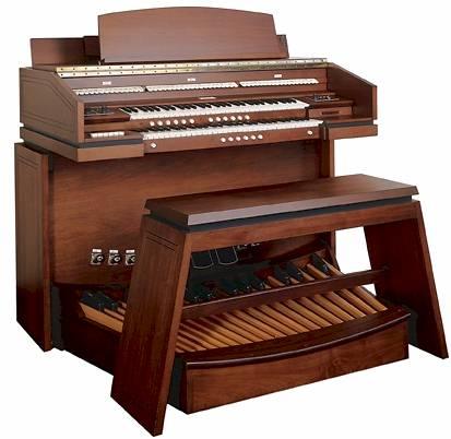 艾伦数字风琴,型号301-3,1971年