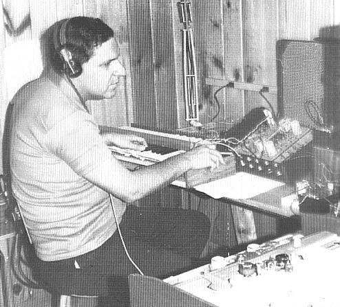 赫伯特·A·多伊奇正在开发慕格合成器,1963年