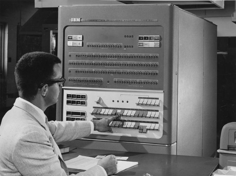 贝尔实验室的IBM704b计算机搭载了Graphics 1系统