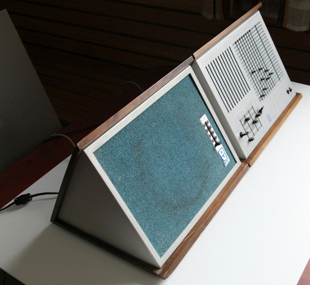 音乐三角的放大器/扬声器模块