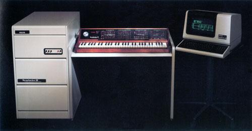 键盘合成器 II 与 ORK 键盘