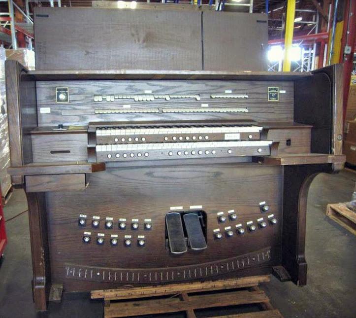 一台艾伦计算机风琴