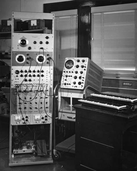 比彻姆合成器(复杂音发生器),实验音乐工作室,美国伊利诺伊大学香槟分校