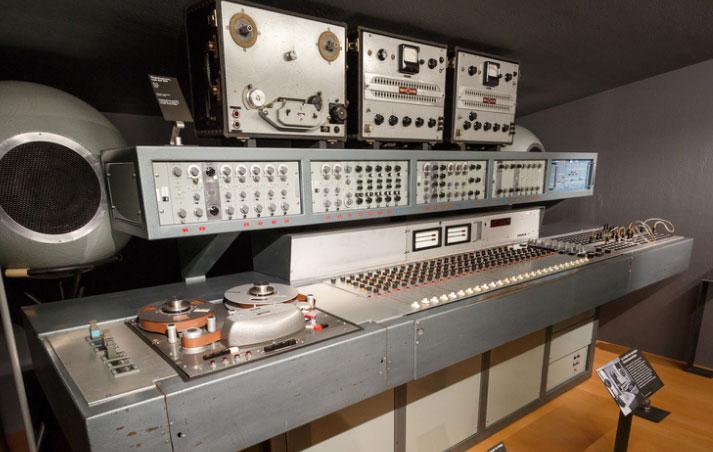 GRM 45号工作室的混音终端