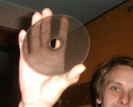ANS合成器上的一张光盘