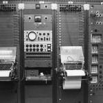 第二代RCA合成器上的穿孔纸带终端