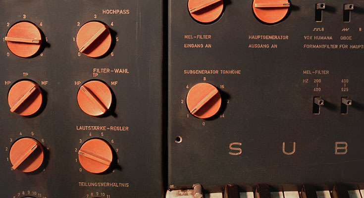 次谐波合成器控制面板