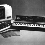 键盘合成器 II 与 VT100 计算机编辑器