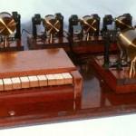 单独的电磁共鸣器,配有键盘