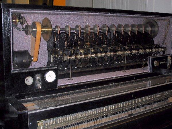 维也纳科技博物馆馆藏的最后一台超级钢琴