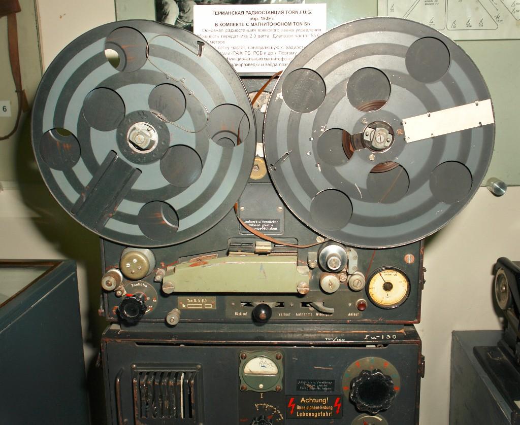 AEG磁留声录音机(AEG Magnetophone),世界上第一台磁带录音机,德国,1944年