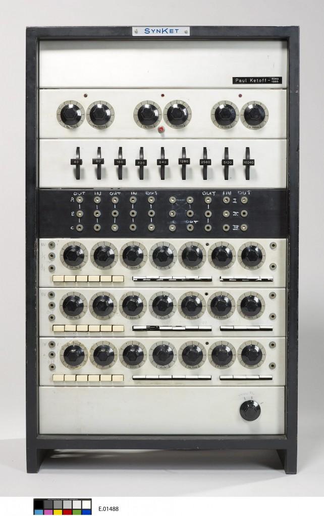 柏林爱乐音乐厅(乐器博物馆)馆藏卡托夫合成器。版权所有©Philharmonie de Paris