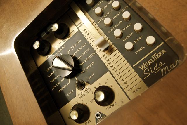 赛德曼鼓机控制面板