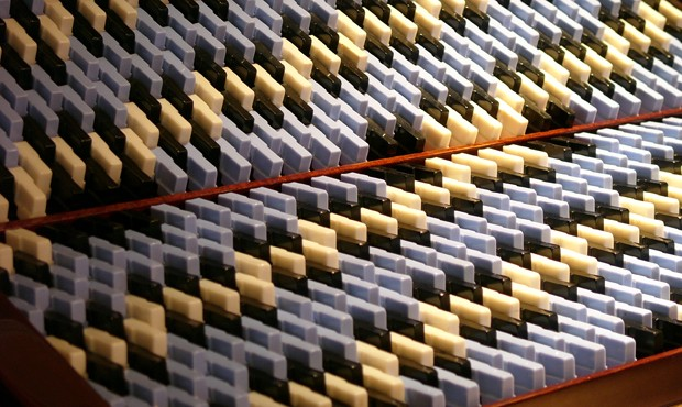 阿尔基琴的原型——福克风琴的键盘,1952年