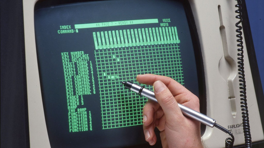 费尔莱特 CMI 使用光笔进行参数编辑
