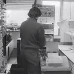 EMS工作室的一台DEC PDP8小型计算机