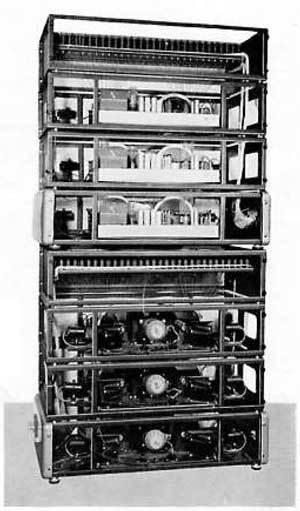 光声牌唱诗风琴的可搬运音源、放大器装置